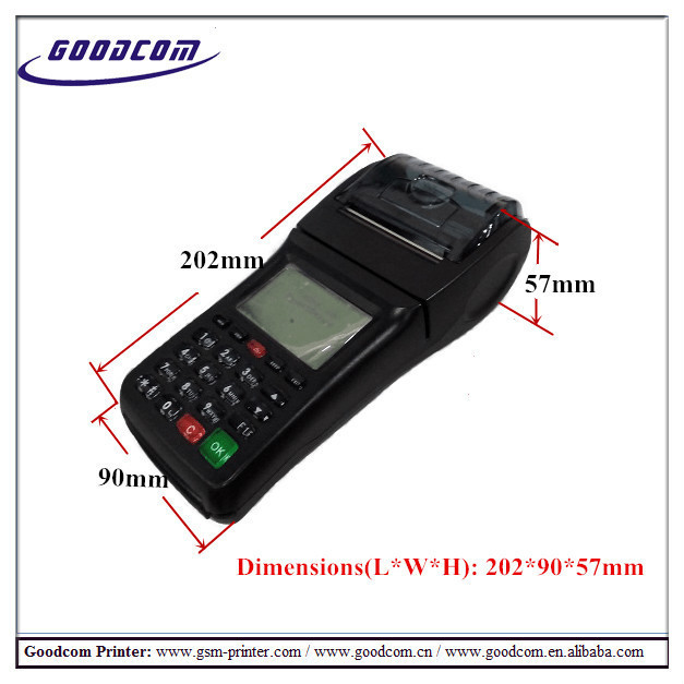 Mobile Bill Payment Machine Portable 58mm QR Code WIFI Thermal Receipt Printer