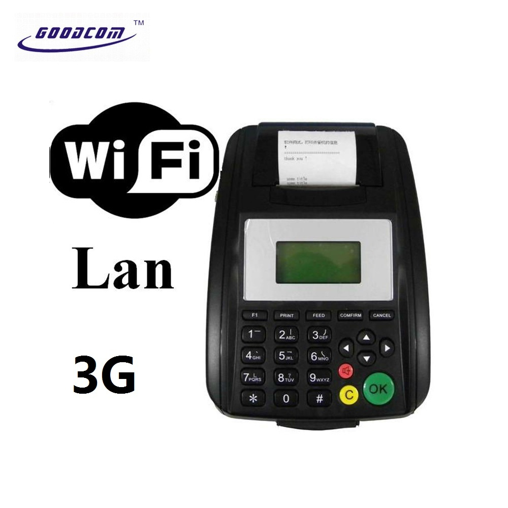 FreeWIFI and LanNetwork Terminal For Website Or Email Receipt Order Printer