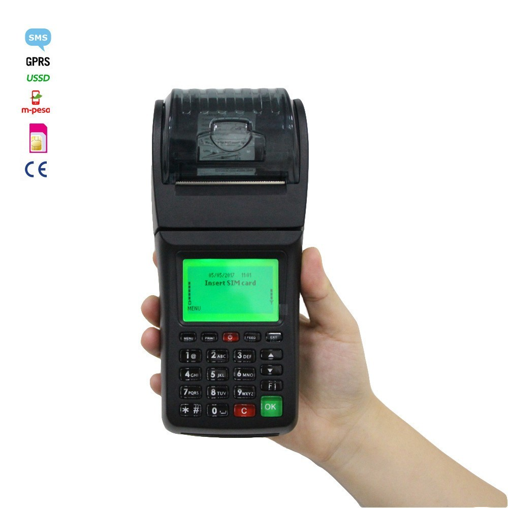 Mobile Money Transfer Bill Payment Portable POS WIFI Printer