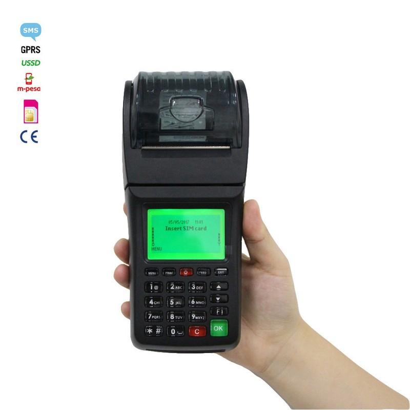 Mobile Money Transfer Bill Payment Portable POS WIFI Printer