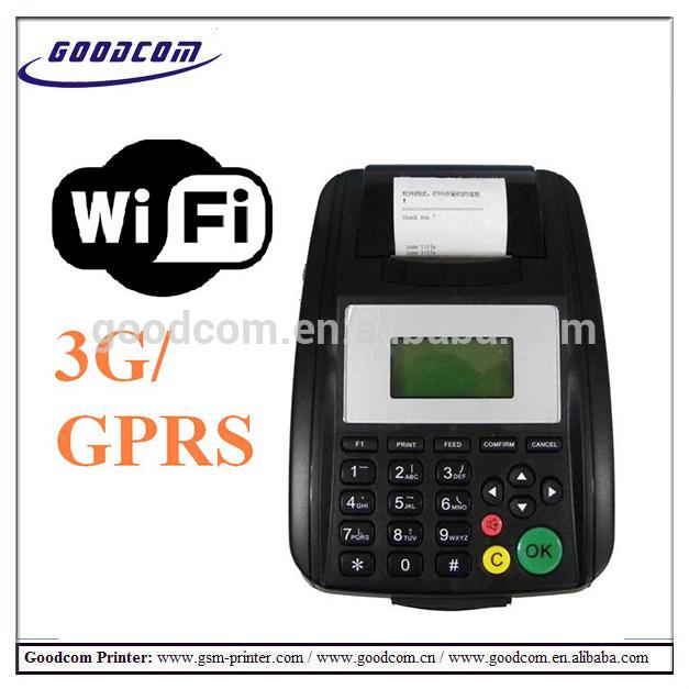 GOODCOM GT5000W 58mm wifi thermal receipt printer for bill payment,ticket printing