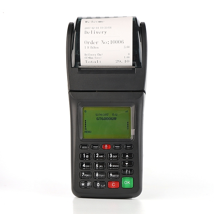 Wifi 3GGPRS SMS Supported Handheld POS Terminal with Printer