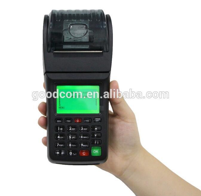 58mm POS Thermal Receipt Restaurant GPRS WIFI Printer For Delivery Orders