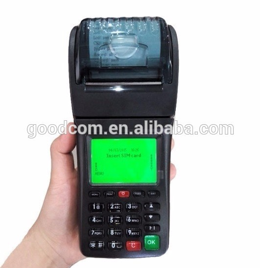 Goodcom GT6000SW Portable SMS GPRS Wifi Printer for Bus Ticketing
