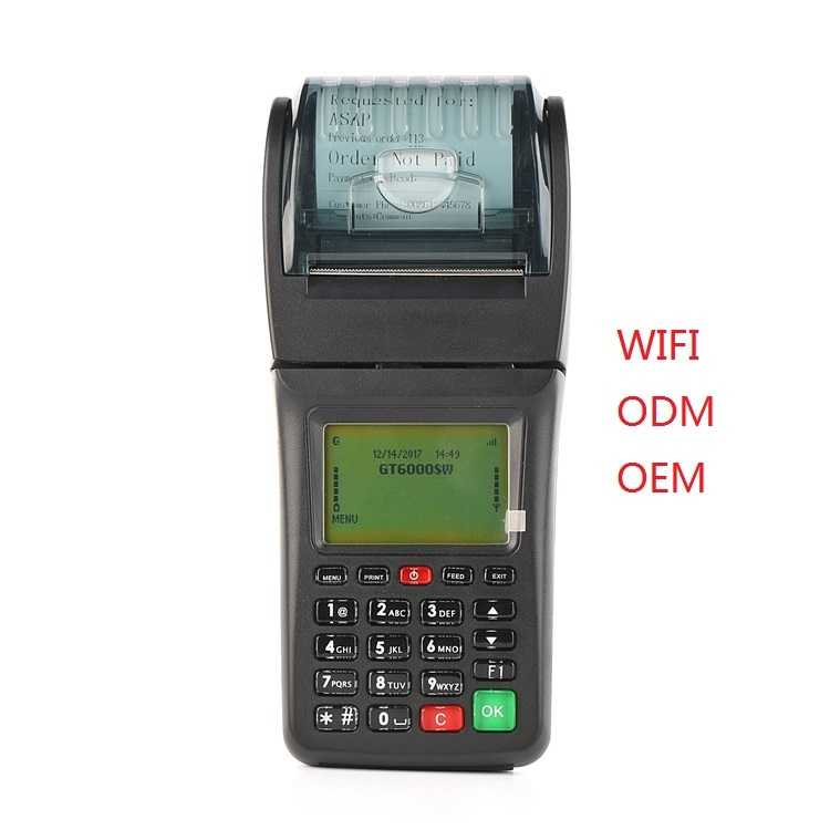 Goodcom WIFI GPRS SMS Handheld POS Printer GT6000SW