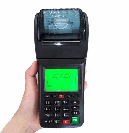 Parking Ticket Machine Handheld Thermal SIM Printer