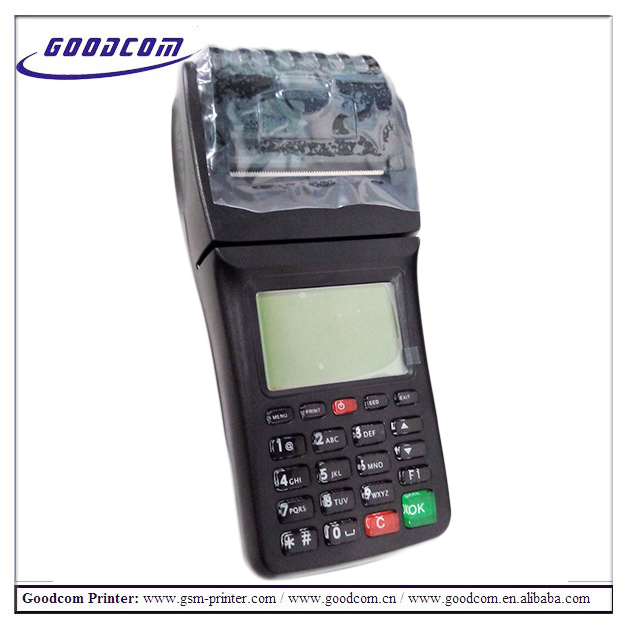 GOODCOM GT6000GW 3G Wifi GPRS Portable handheld pos terminal lottery pos terminal for restaurant ordering machine