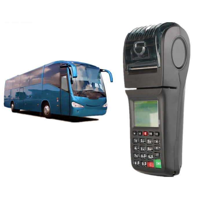 Portable smart GPRS WIFI POS Ticket Printer For Taxi, Bus, Lottery,etc..