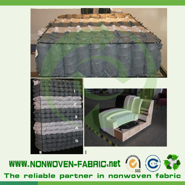 High quality 100% PP spunbond nonwoven fabric/non woven raw material for sofa interlining,mattress use