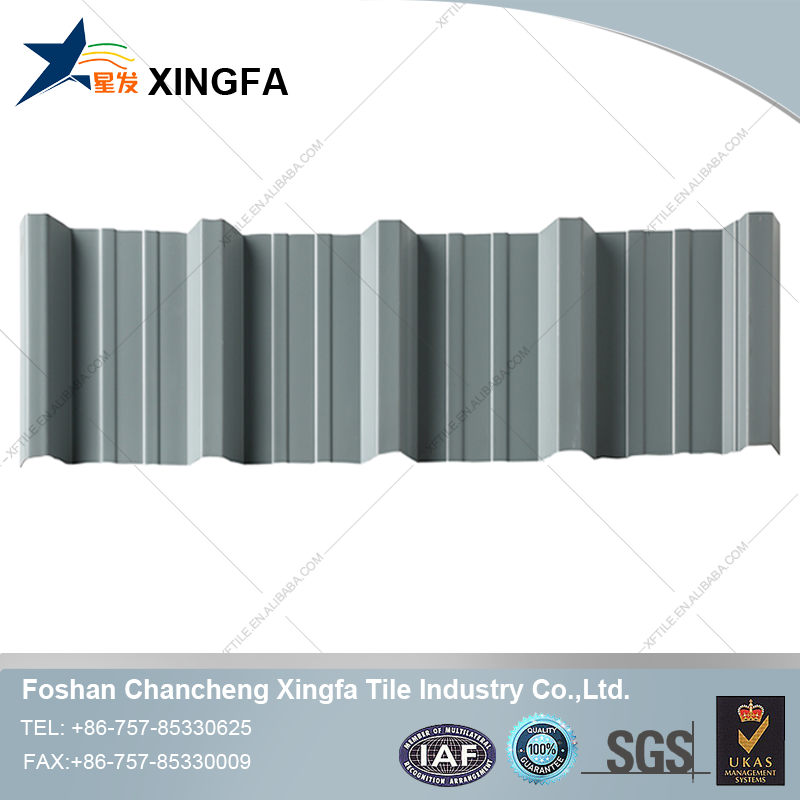 Innovative Products Dubai Roofing Sheet Suppliers UPVC Glass Curved Roof Tile