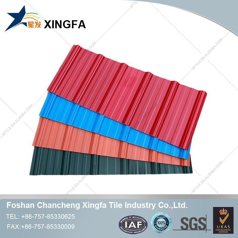 sheet roof tiles/roman style roof tile/decoration pvc plastic roof tile