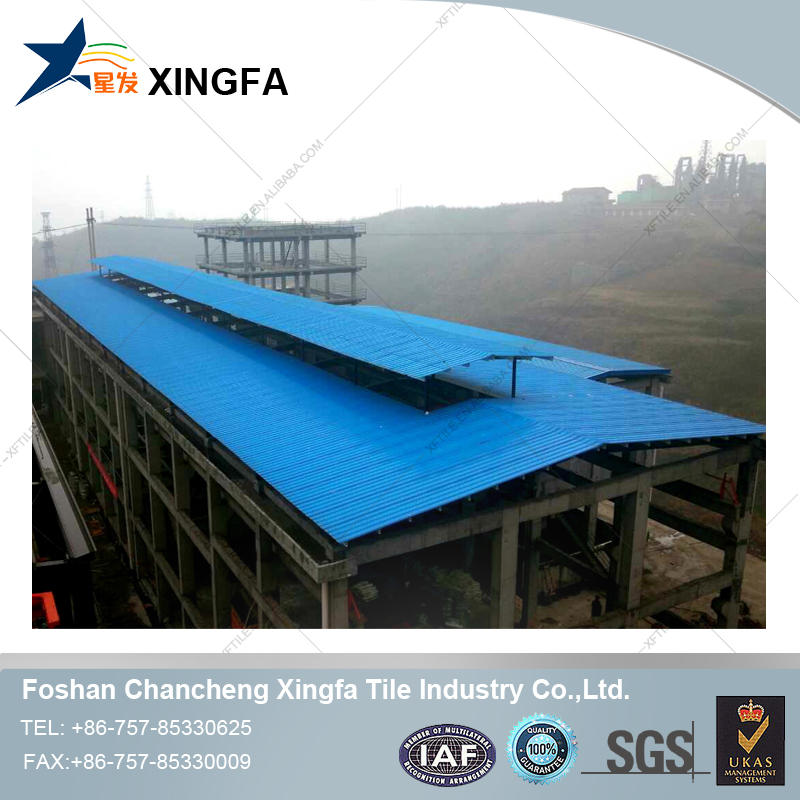 Anti-corrosive,Thermal insulating PVC Roofing Tile