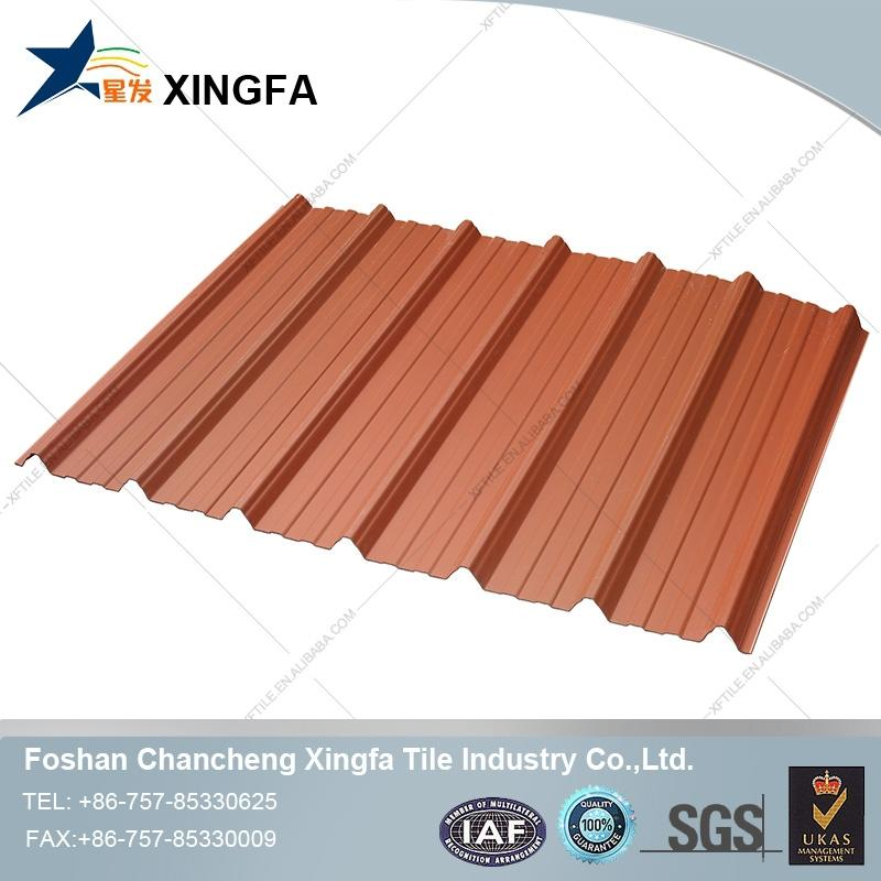 3 layer upvc trapezium roofing sheets/pvc roofing tile/upvc corrugated roof cover
