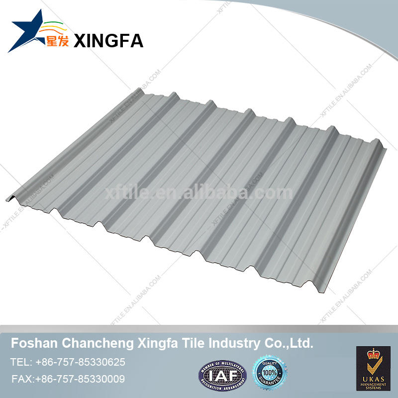 New technology trapezium plastic roofing tiles shingles for sale