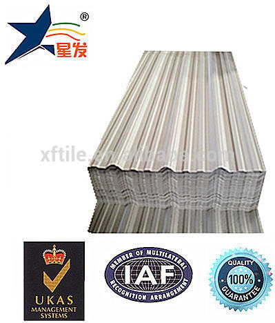 New technology trapezium roofing shingles building material