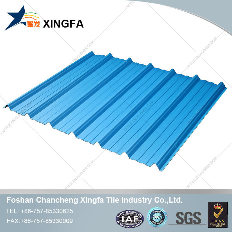 Colorful PVC resin plastic roof tile