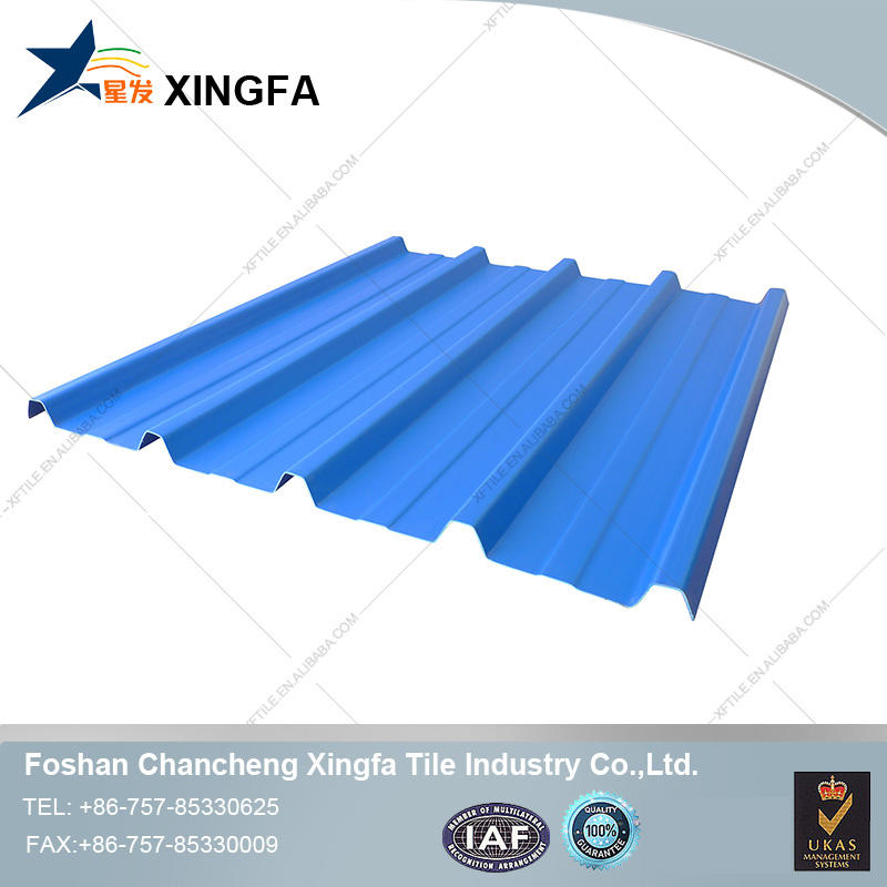 Fiberglass corrugated plastic roof sheet for China factory