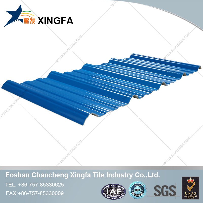 UPVC trapezium roofing Sheet /roofing tile