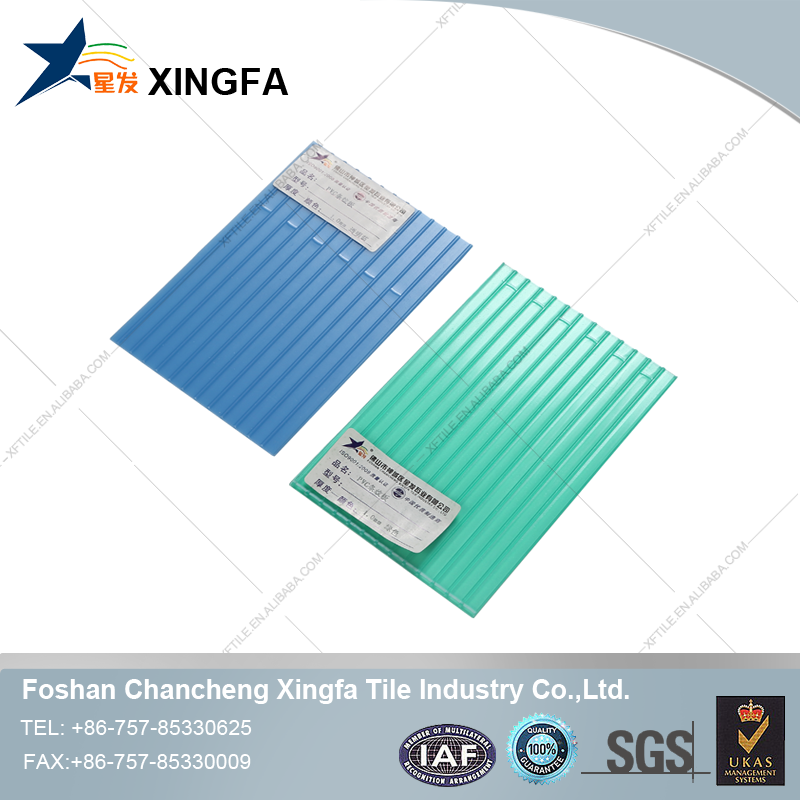 Fiberglass corrugated plastic roof panel for Foshan factory