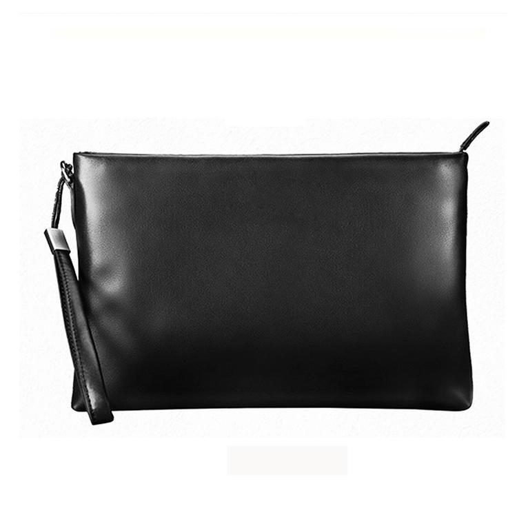 Custom Messenger Bag Top Grain Genuine Leather Phone Wallets Clutch Bag For Men