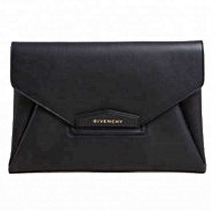 100% Genuine Leather envelope evening Clutch bags for Women luxury fashion ladies outdoor party wedding hand money purses