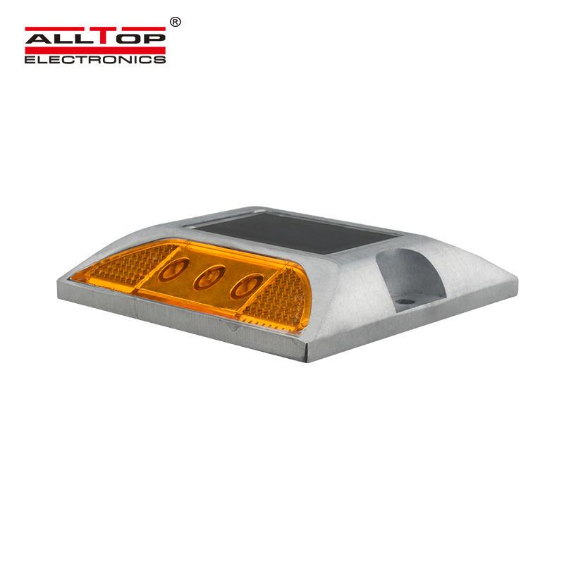 ALLTOP Solar Powered LED Garden Pathway Lights Waterproof led solar reflector road stud