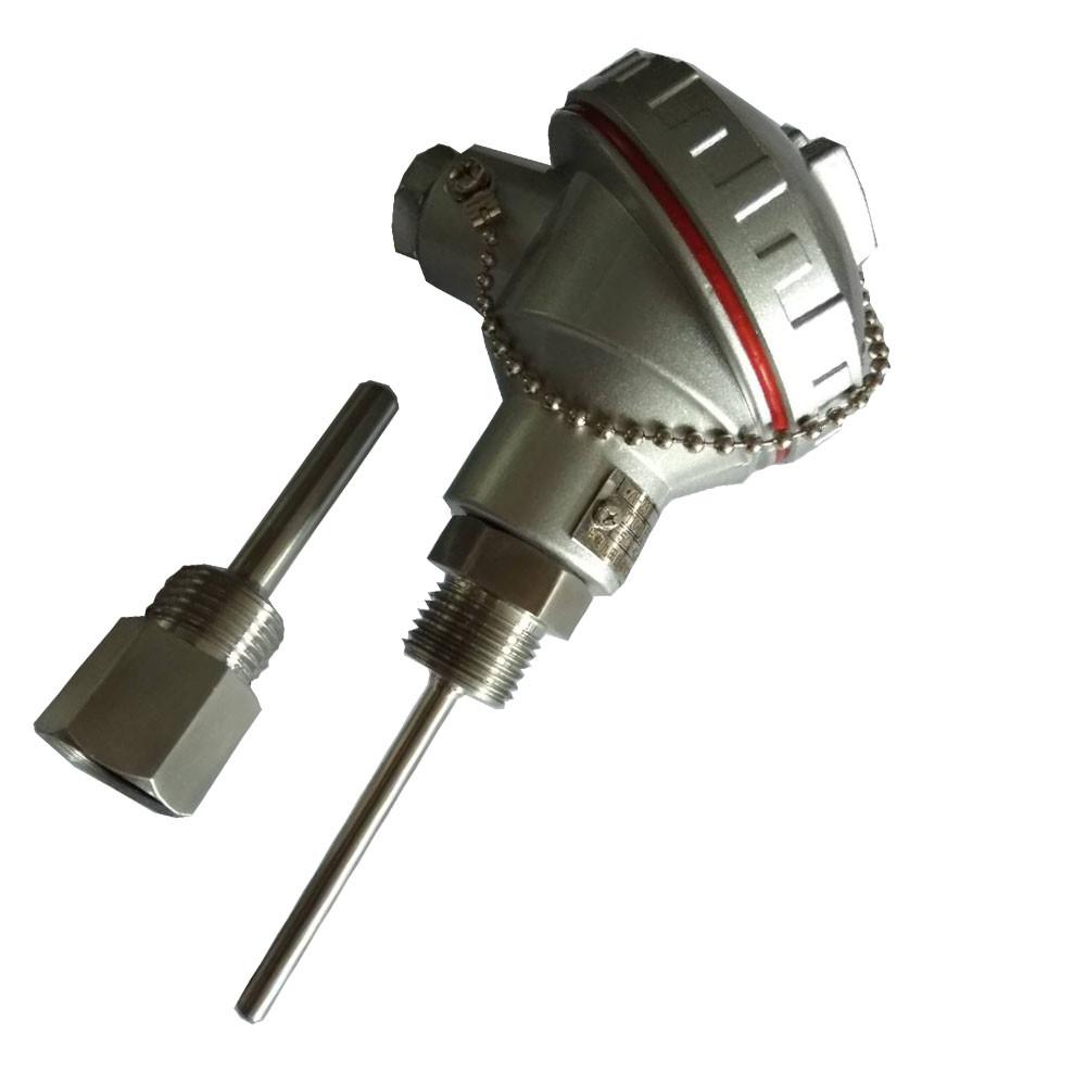 2019 Best price Assembly WZP-231 SS316 PT100 Type Sheath RTD Sensor PT100/PT1000 with protection Tube