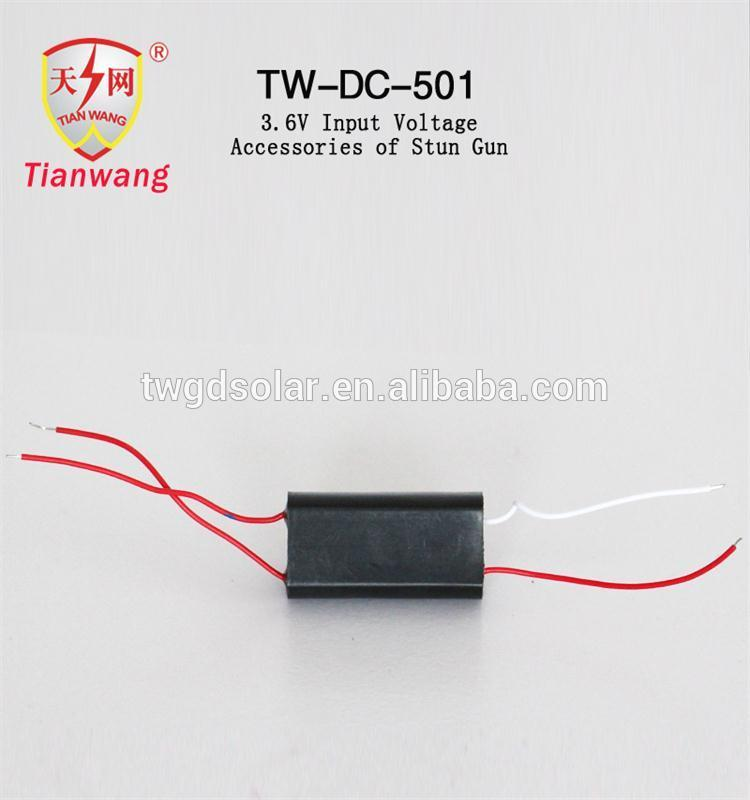 DC 3.6V-12000V Super Power Generator Transformer for Personal Security Products