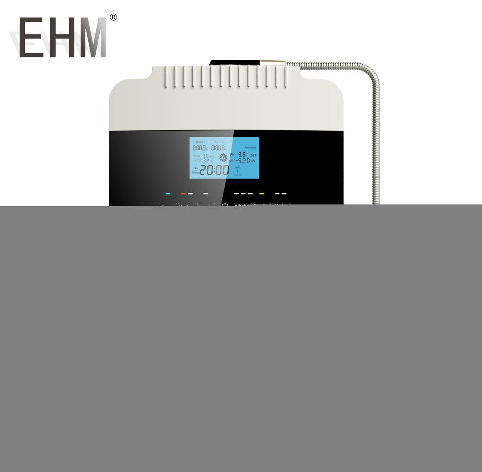EHM 929 Alkline Machine Alkaline Water Ionizer with 8 plates
