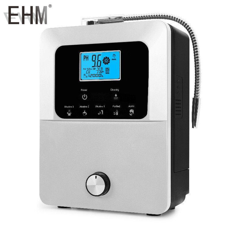 EHM-849 alkaline water ionizer 11 plates with internal water filtersagua alcalina