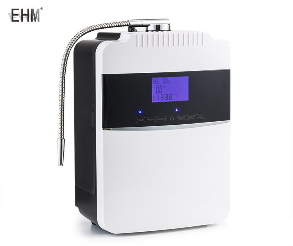 EHMwater alkaline machine with heatingsystem /water ionizer