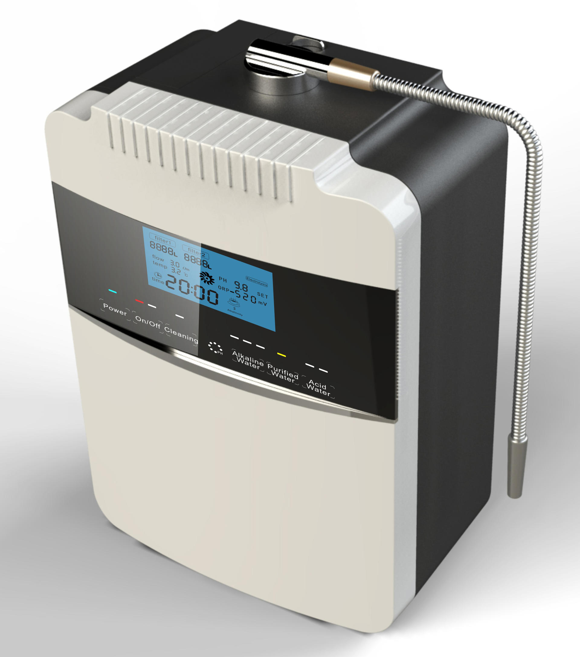 EHM 8 plates ionized alkaline water machine