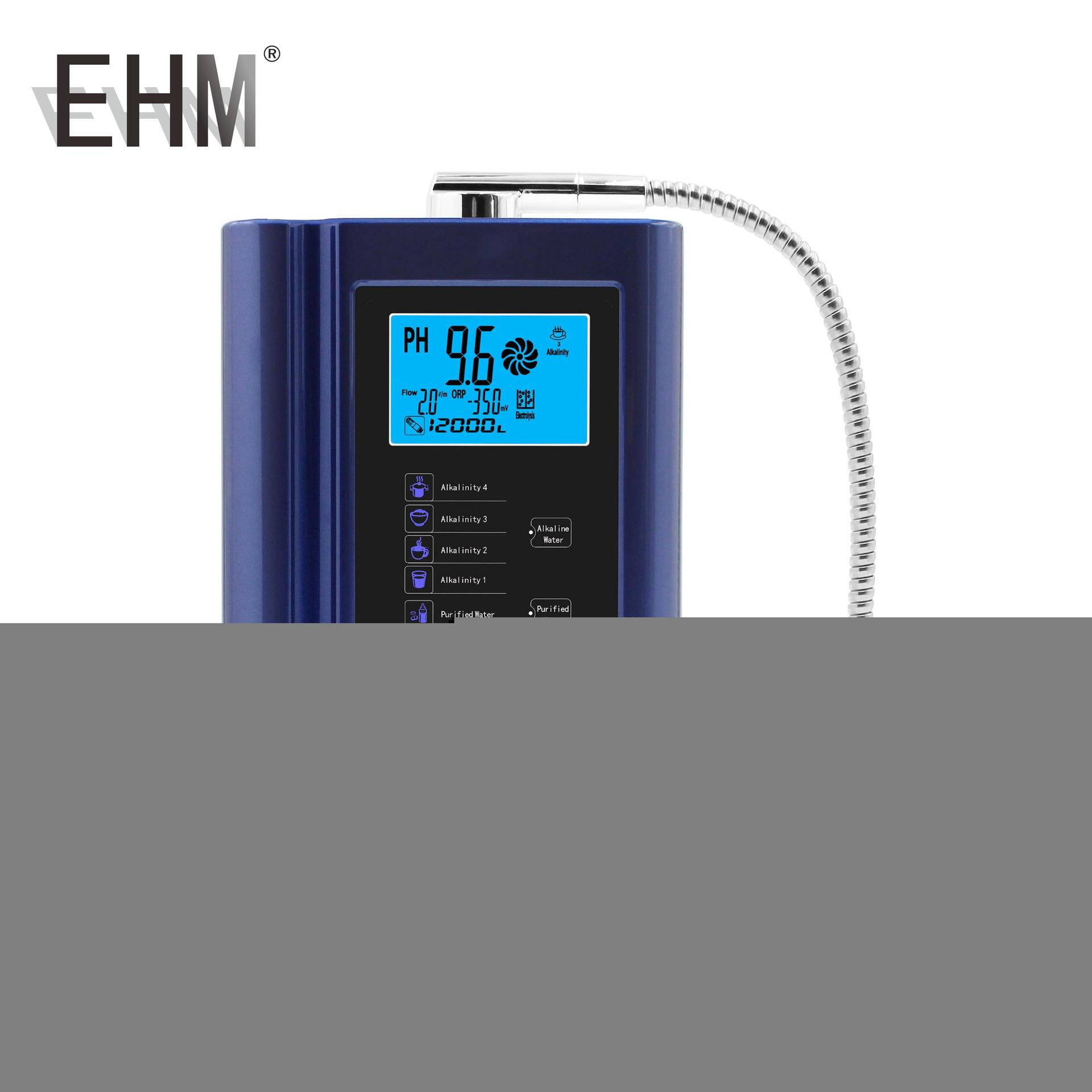 EHM Hydrogen Alkaline Water Ionizer Japan