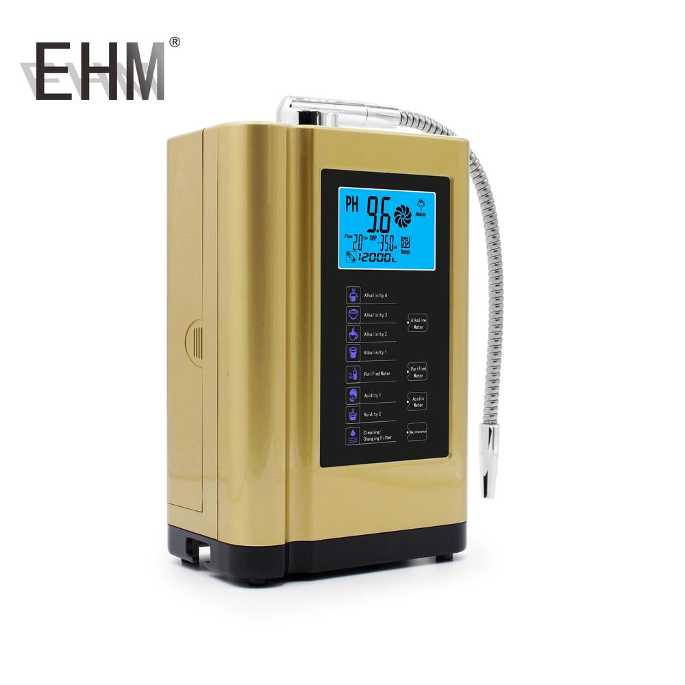 EHM Alkalize Device Alkaline Ionized Water Machine