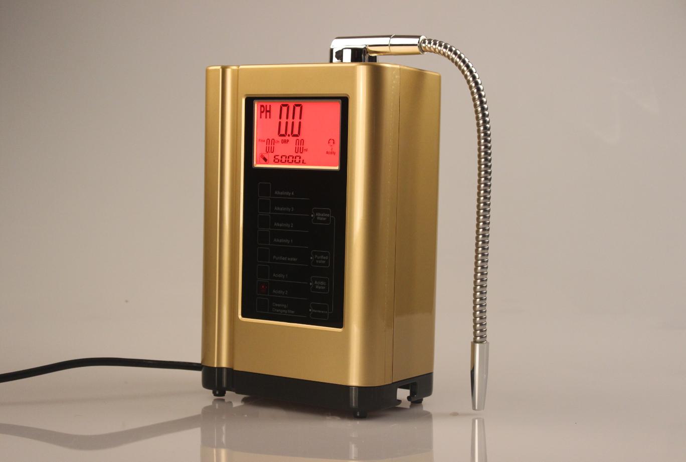 hot sale factory alkaline water ionizer machine