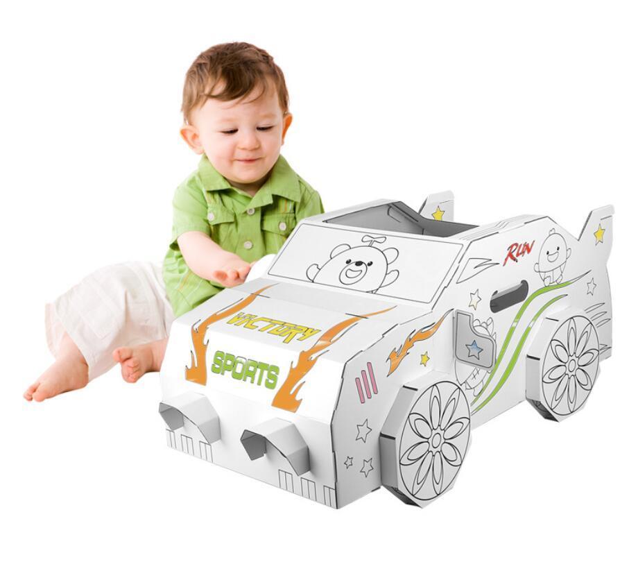 wholesale custom educational toy cardboard castle playhosue