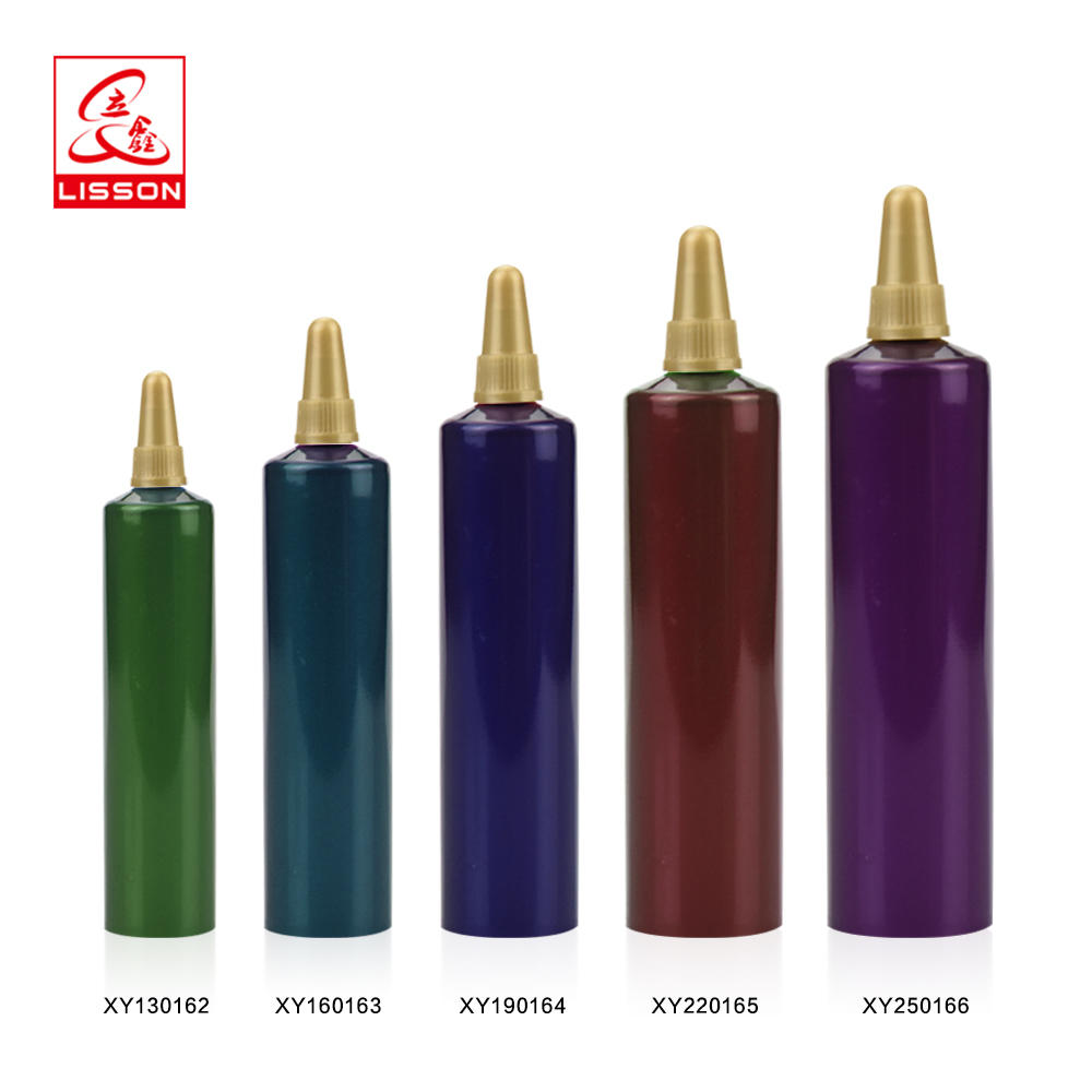 3ml eco-friendly PE skincare needle nose packaging tube with screw cap