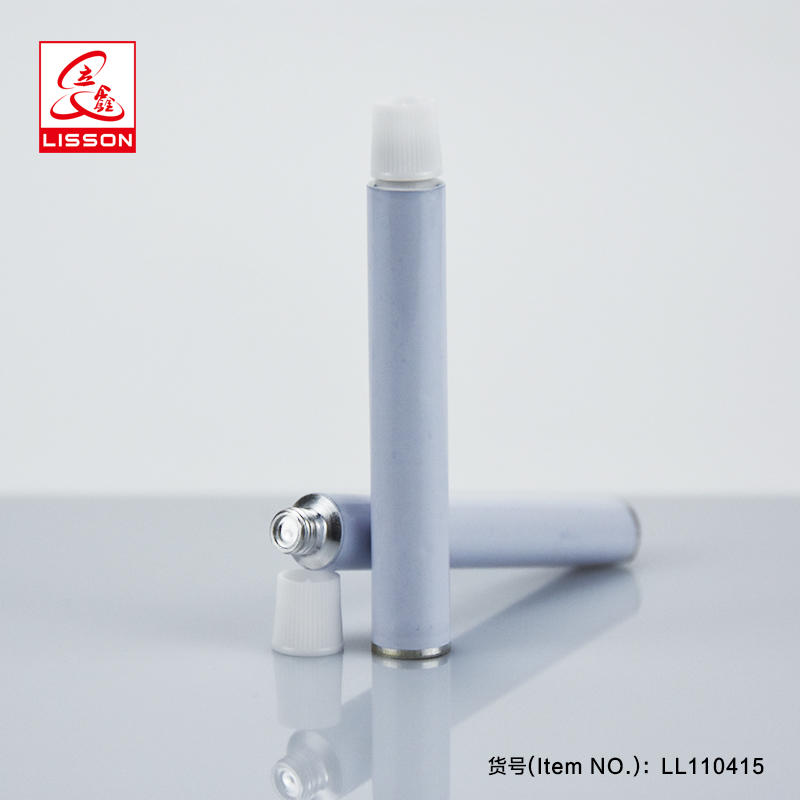 D11 collapsible pharmaceutical aluminum tube cream tubes packaging for toothpaste