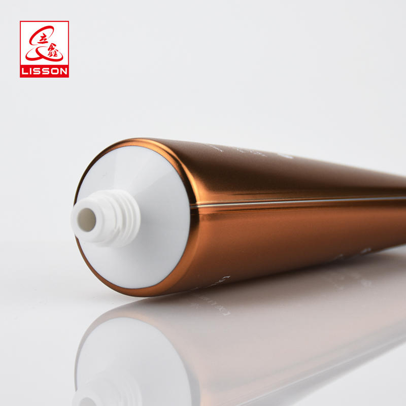 Luxury Cosmetic Tube Packaging With Beauty Packaging Screw Cap For Skin Cleaner