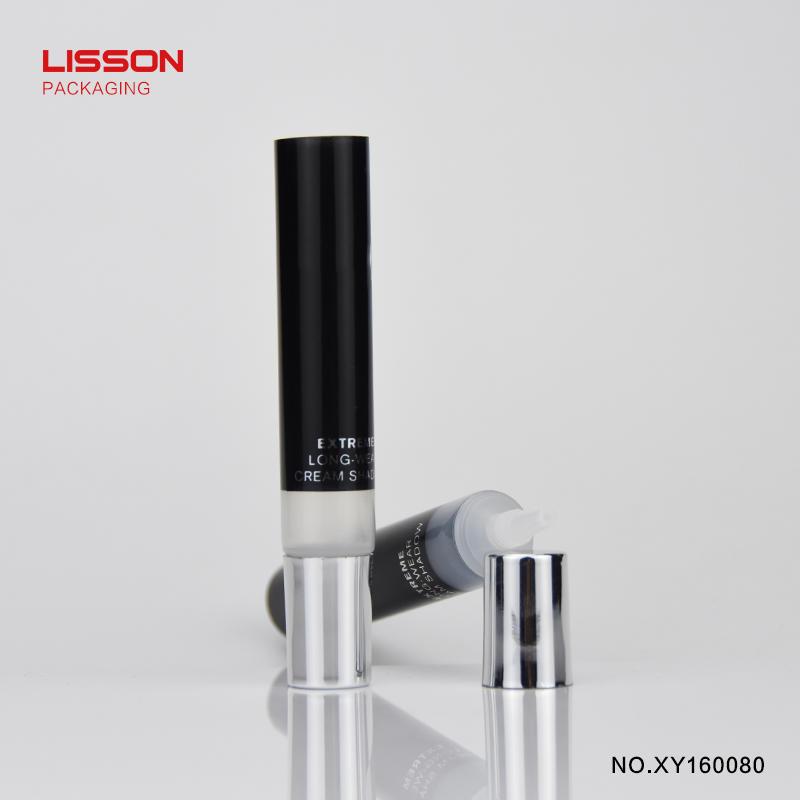 10ml empty skincareplastic cosmetic tube with nozzle screw cap
