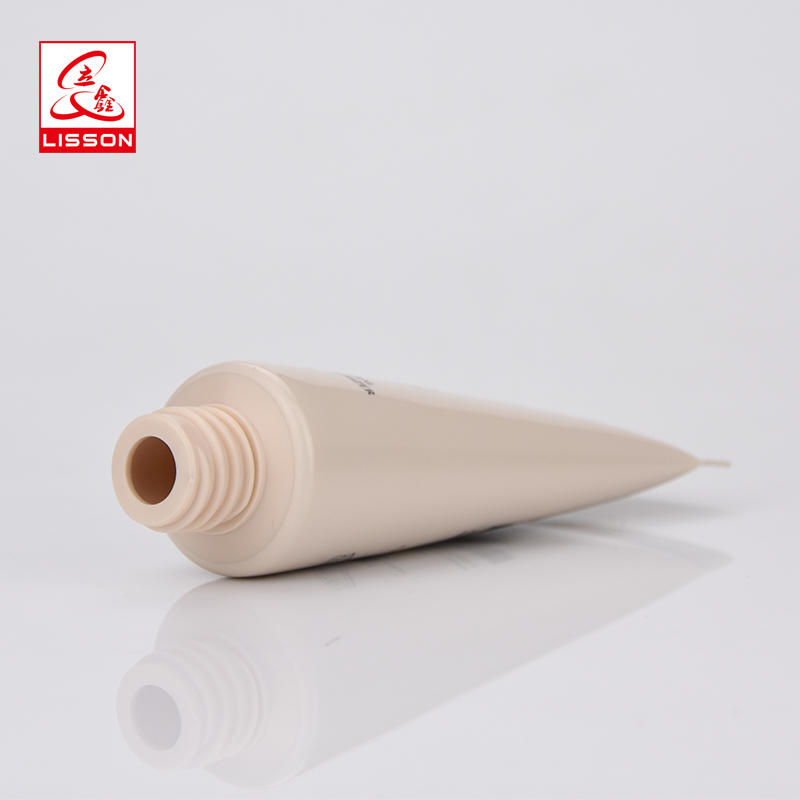 60ml Cosmetic Airless Pump Tube Packaging BB Cream Or Foundation