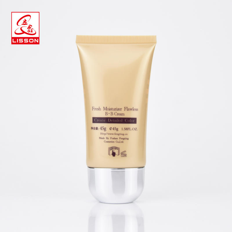 Wholesale Manufacturer Oval Packaging Tube For BB cream Foundation Lotion With Special Cap