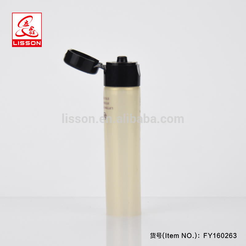 3ml Wholesale Cosmetic Sample Soft Tube Cream Container with Flip Top Capfor Trial Product
