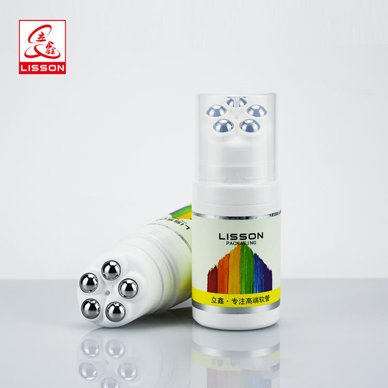100ml empty custom roller on cosmetic massage ball bottle packaging