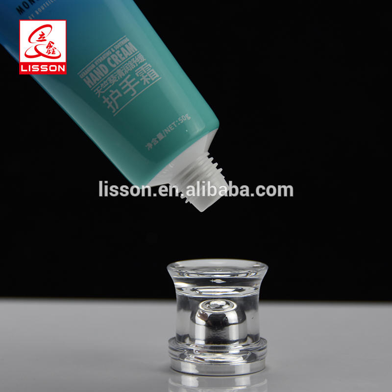 50g Moisturizer Skin-Protection Packaging ABL Tube with Acrylic Cap