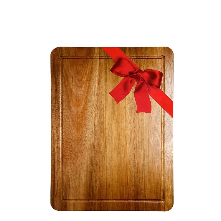Wholesale heat resistant original wood chopping board vegetable cutting board