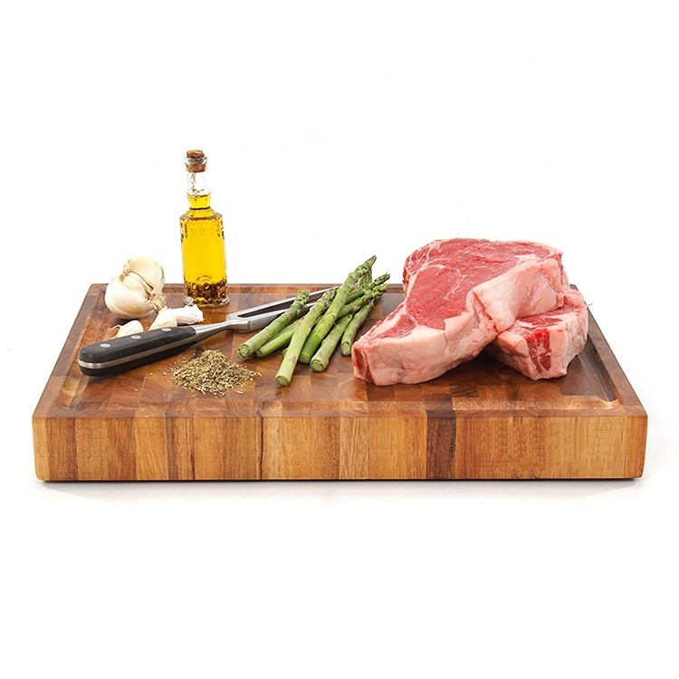 Custom new style blank cutting board wood chopping board