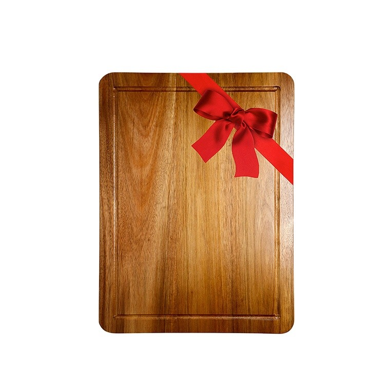 Customized oak wood rice husk cutting board