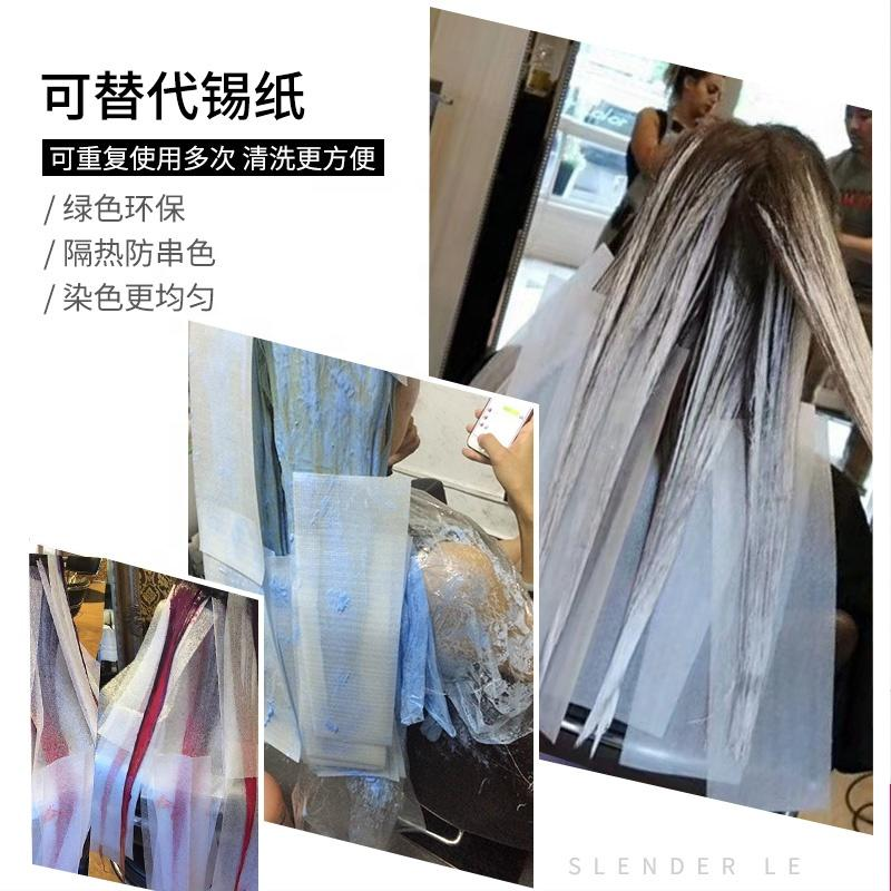 Styling Salon Tool Hairdressing Highlight Dyeing Separating Barber Tissue 50pcs Hair Dyeing Plastic Paper