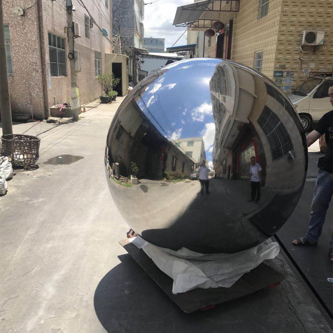 building stainless steel ball/sculpture